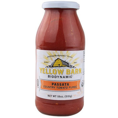 Good Boy Organics Yellow Barn Biodynamic Passata Country Tomato Puree 18 oz