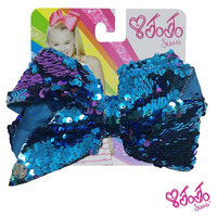 JoJo Siwa Signature Collection Hair Bow - Black With Sticker Patch Set Included