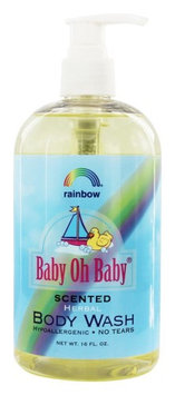 Rainbow Research - Baby Oh Baby Herbal Body Wash Scented - 16 oz.(pack of 2)
