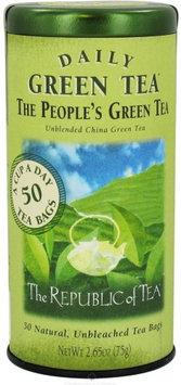 The Republic of Tea - The People's Green Tea - 50 Tea Bags
