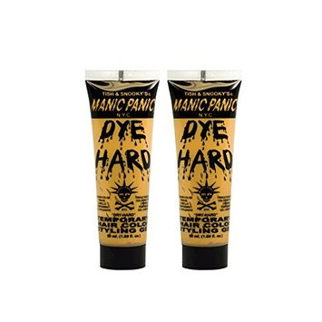 Manic Panic Temporary Hair Color Styling Gel 1.69oz GLAM GOLD by Manic Panic