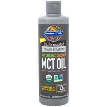 Dr.Formulated 100% Organic Coconut MCT Oil (16 Ounces Liquid) by Garden of Life at the Vitamin Shoppe