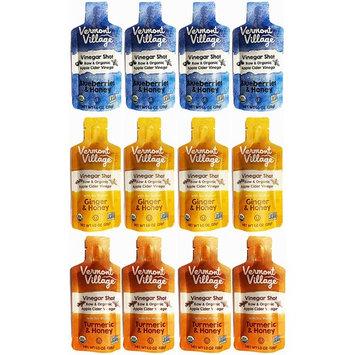 Vermont Village Vinegar Shot Variety Pack of 12