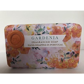 Castelbel Gardenia Luxury Soap Bar 10.5 Oz