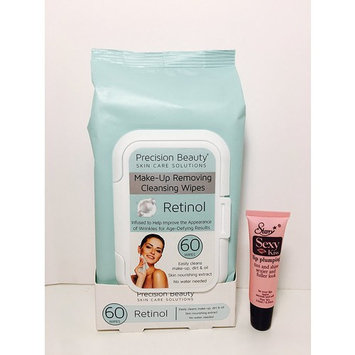 Precision Beauty Make-Up Removing Wipes Retinol 60 Count