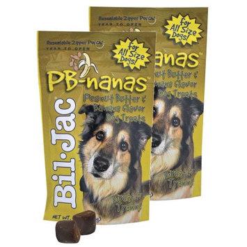 Bil-Jac PB-Nanas Dog Treats 4 oz, 2 Pack