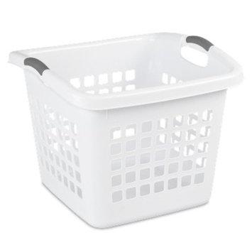 Sterilite 1.75 Bu Ultra Square Laundry Basket - White