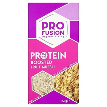 Profusion Organic Protein Boosted Muesli 350g (Pack of 4)