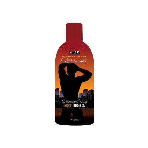 Topco Lucas Entertainment After Hours Hybrid Lubricant, 8 Fluid Ounce (236 ml) Bottle