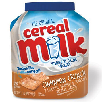 Cereal Milk Mixxers Cinnamon Crunch