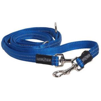 Kruuse Uk Buster 7-way Nylon Lead Reflective Blue 10mm X 2m