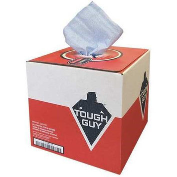 Tough Guy Blue DRC (Double Re-Creped) Disposable Wipes, Number of Sheets 200 Model: 32RT57