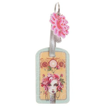 Rose Luggage Tag by Papaya