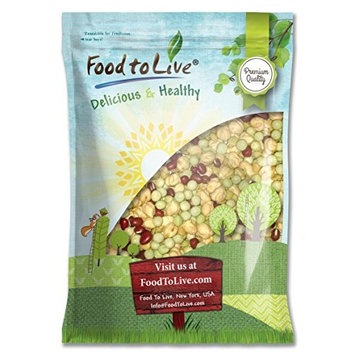 Food To Live ® Crunchy Mix of Sprouting Bean Seeds (10 Pounds) (Ingredients: Green Peas, Adzuki, Lentil, Garbanzo) to grow sprouts or for cooking