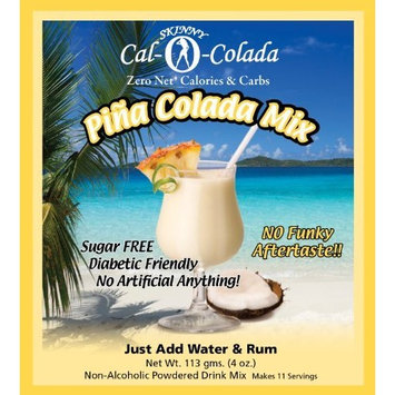 Sugar Free Pina Colada No Calories or Carbs - 100% All Natural Mix - 11 Servings