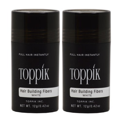 Toppik 0.42-ounce Hair Building Fibers (Pack of 2)