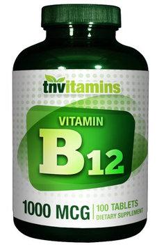 Tnvitamins Vitamin B-12 1000 Mcg - 100 Tablets