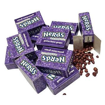 Wonka Nerds 60 Purple Mini Boxes - GRAPE FLAVOR
