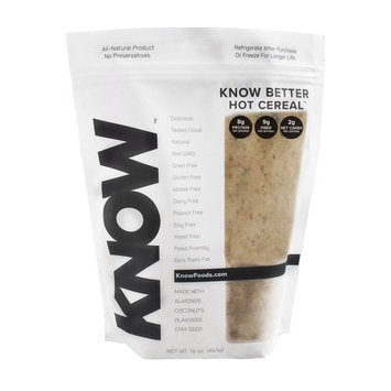 KNOW Foods Better Gluten Free Hot Cereal, 16 Ounce