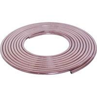 Mueller RC2510 Short Coil Tubing, 1/4 in, 10 ft L, Copper