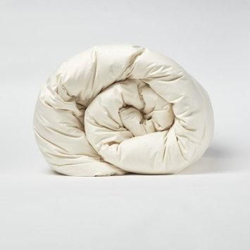 Amberly Bedding Wool/Down Organic Cotton Comforter Twin