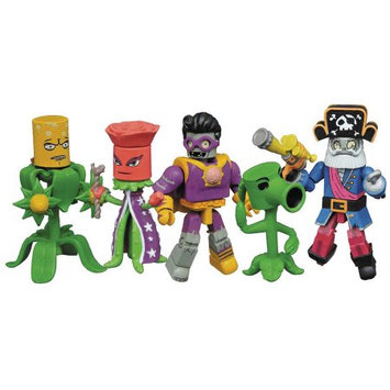 Diamond Select Toys Plants vs. Zombies Garden Warfare 2 Minimates Box Set