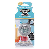 Yankee Candle Smart Scent Vent Clip Bahama Breeze 0.13 Ounce, Blue