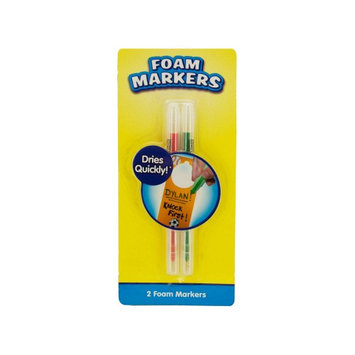 Kole Foam Markers Perfect For Writing On Craft Foam (2 Pack)