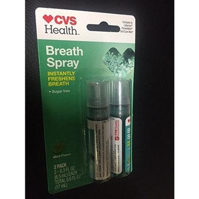 Breath Spray 2 Pack Mint Flavor .3FL OZ each