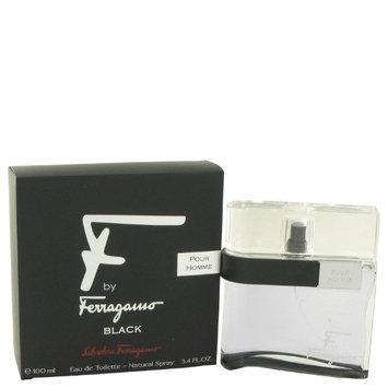 Salvatore Ferragamo 463917 F Black by Salvatore Ferragamo Eau De Toilette Spray 3.4 oz