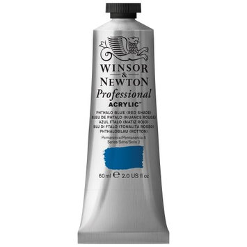 Winsor & Newton 2320514 60ml Acrylic Paint Color - Phthalo Blue Red Shade