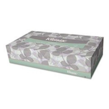 KIMBERLY-CLARK PROFESSIONAL* KLEENEX SOFTBLEND Facial Tissue, 2-Ply, White, 125/Box, 48 Boxes/Carton