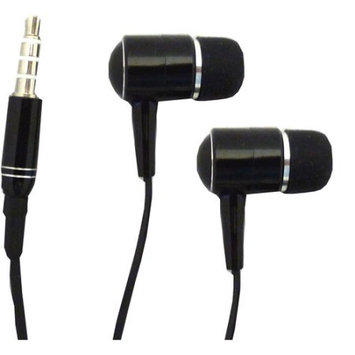 Professional Cable Hdphone-bk iPhone/iPod Replacement Stereo Headset With Mic Black