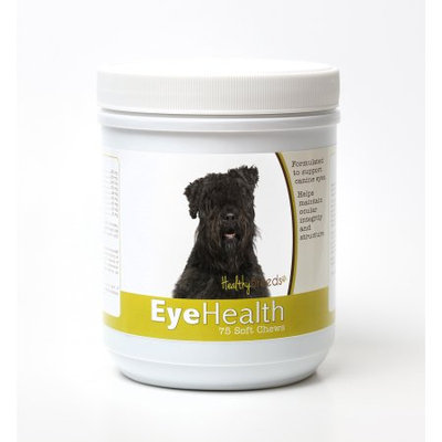 Healthy Breeds 840235145219 Bouvier des Flandres Eye Health Soft Chews - 75 Count