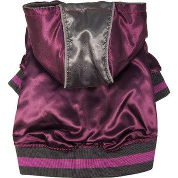 Dogit Style Metallic Hoodie - Purple - Medium
