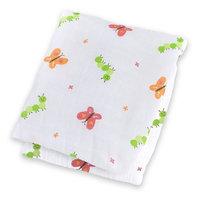 lulujo Muslin Cotton Swaddling Blanket - Garden Party - 1 ct.