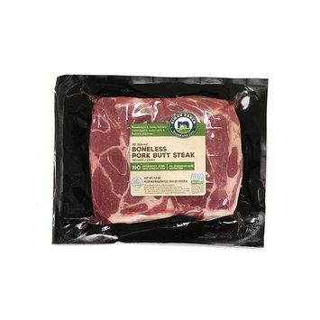 Niman Ranch Boneless Pork Butt Steaks, 0.75 lb