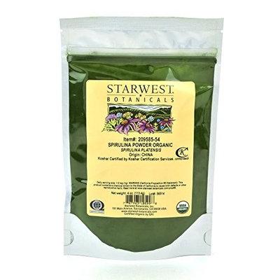 Starwest Botanicals Organic Spirulina Powder