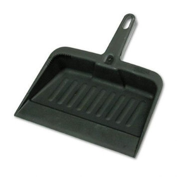 RUBBERMAID FG200500CHAR Hand Held Dust Pan, Polypropylene