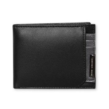 Geoffrey Beene Mens Montgomery 2PC Leather Bifold Wallet