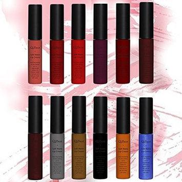 Awtang Matt Non-stick Non Fade Lip Gloss Lasting Liquid Lipstick-6pcs