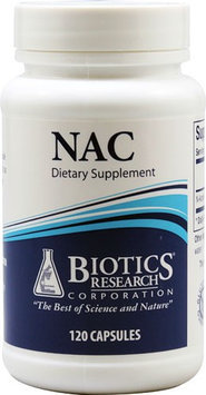 Biotics Research - NAC 500 mg. - 120 Capsules