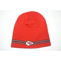 Reebok NFL Kansas City Chiefs Pin Striped Beanie Hat Ski Skull Cap Lid Toque