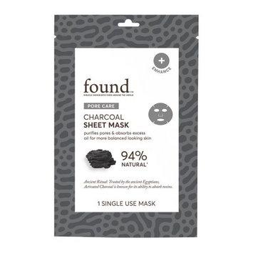 Hatchbeauty Products FOUND PORE CARE Charcoal Sheet Mask, 1 Single Use Mask