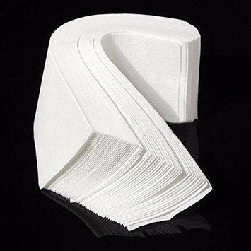 200pcs Nonwoven Body Hair Removal Paper Depilatory Epilator Wax Strip