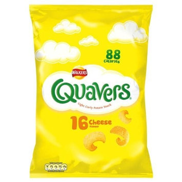 Walkers Quavers Cheese Flavour 10 x 16pack