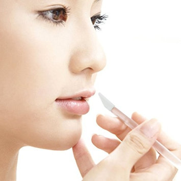 Frcolor 50pcs Lip Brushes Disposable Lipstick Lip Gloss Brush Wands Applicators