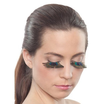 Peacock Eyelashes by Party King LSH17, One Size