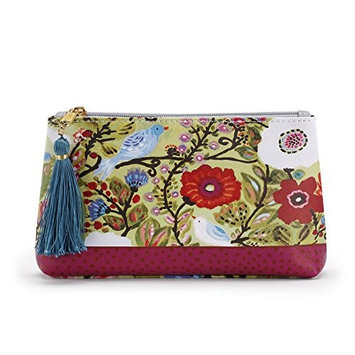 byDesign Forever Friends Cosmetic Pouch with Tassel Make Up Bag