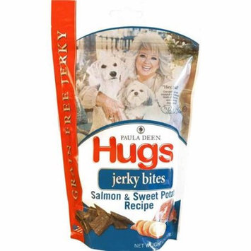 Hugs Pet Products Paula Dean Grain Free Jerky Bites Salmon and Sweet Potato